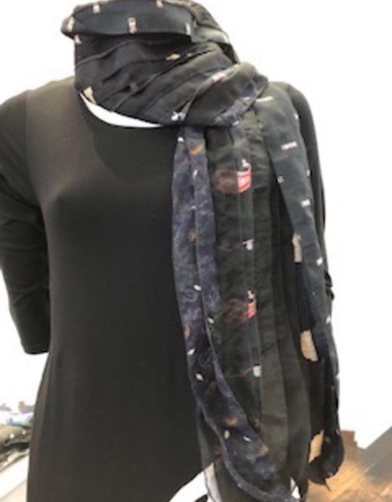 Fair Trade Recycled Silk Scarf