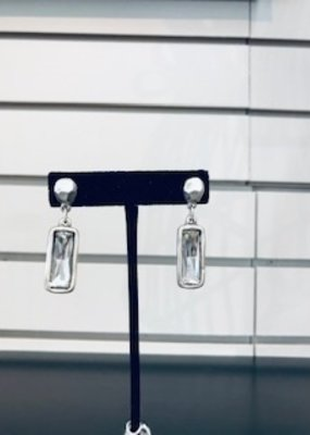 Misc Rectangle Gemstone Earring