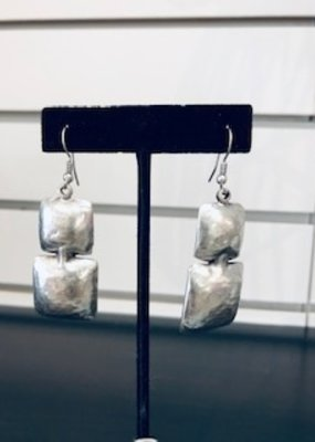 Misc Hammer Block Earrings