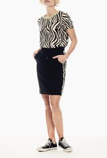 Garcia Zebra Stripe Skirt