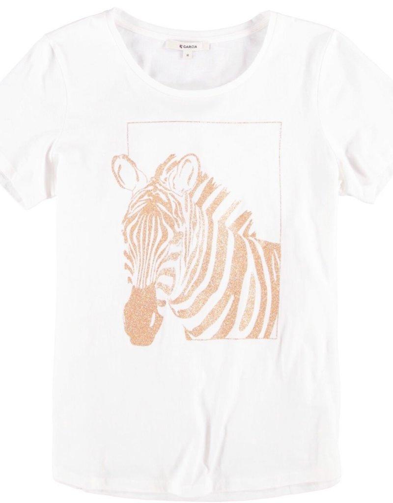 Garcia Zebra Logo Tee