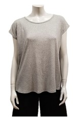 Gilmour Clothing Rib Knit Modal Tee