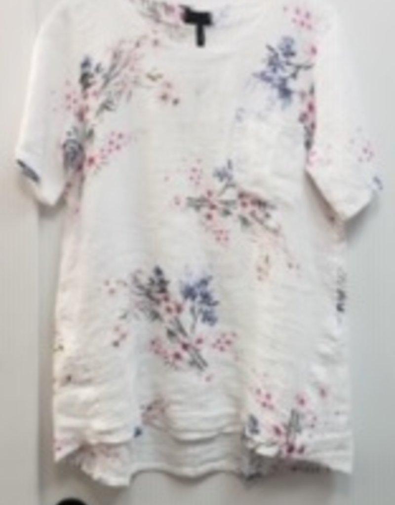 Misc Floral Short Sleeve