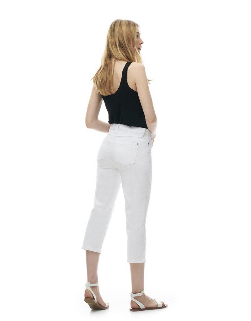 Yoga Jeans Classic Rise Straight Capri