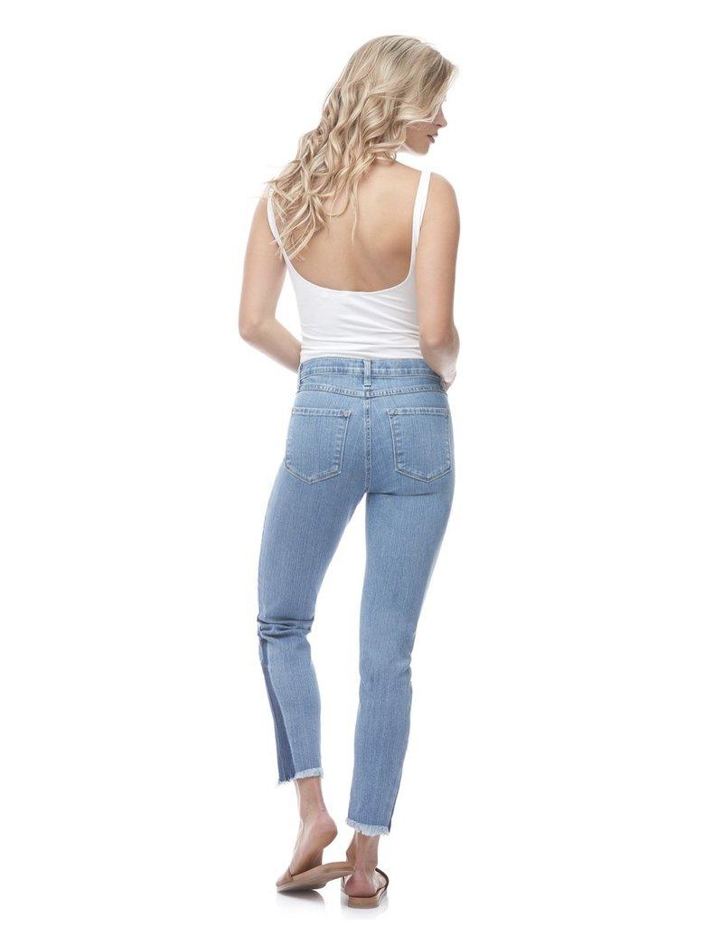 Yoga Jeans Emily Crop Fray Bottom