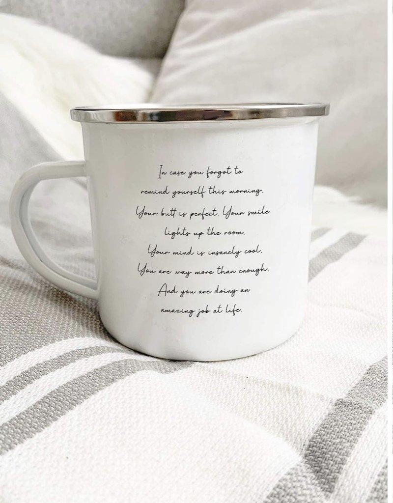 OM & Ah London Enamel Mug