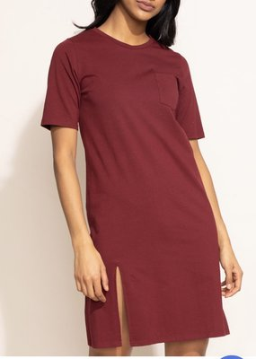 Pink Martini Wine Shift Dress