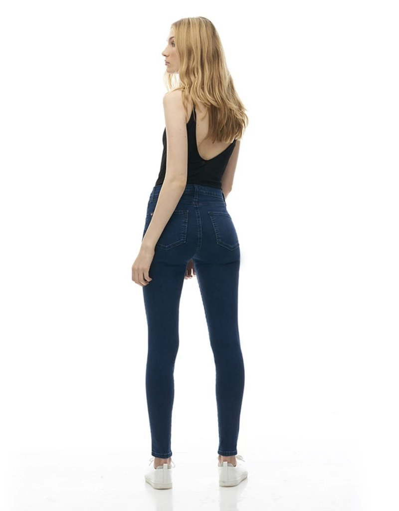 Yoga Jeans Classic Rise Ankle Skinny