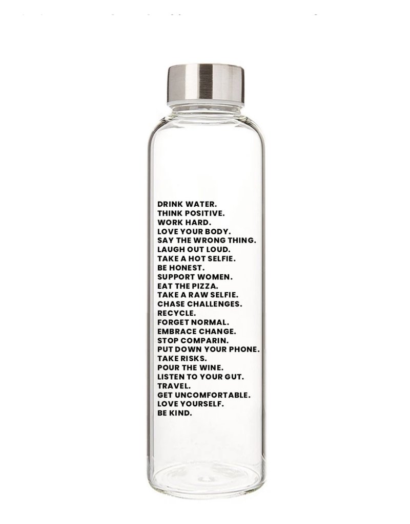 State of Grace Water Bottle Mantra