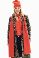 Garcia Orange Knit Scarf