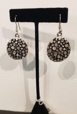 Fair Trade Round Pebbled Earrings