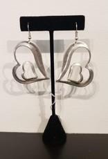 Fair Trade Heart Earrings