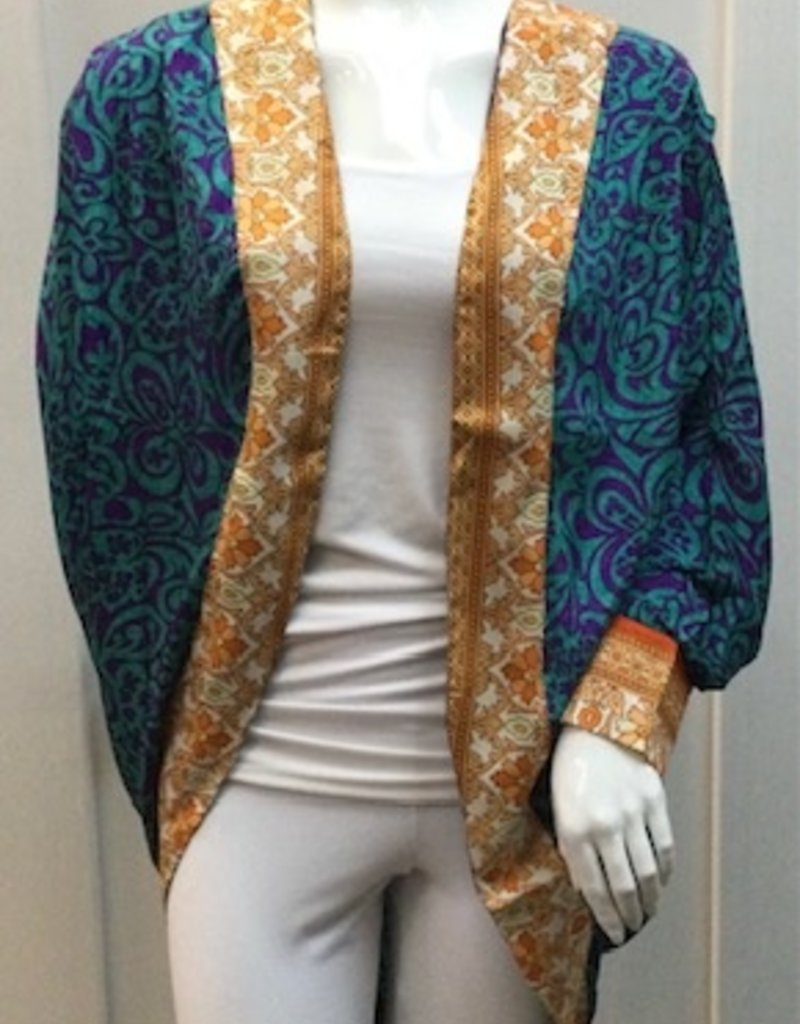 Guru Upcycled Cocoon Kimono