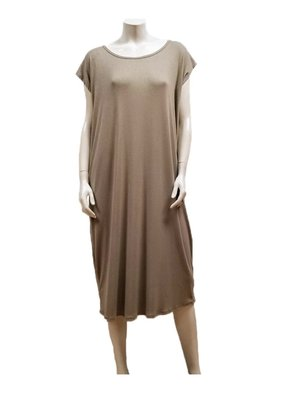 Gilmour Clothing Modal Rib Knit Dress
