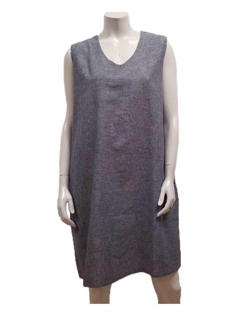 Gilmour Clothing Hemp Cotton Sleeveless Dress