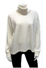 Gilmour Clothing Rayon Ottoman Crop T-Neck