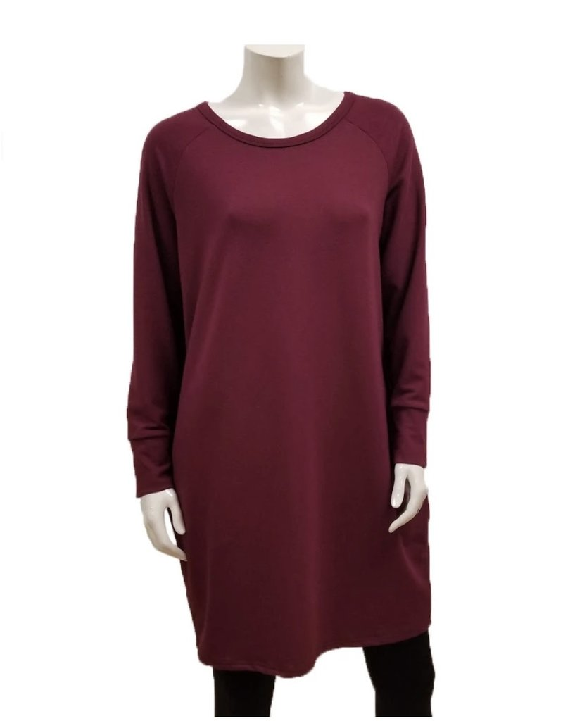 Gilmour Clothing Bamboo French Terry Raglan Dress