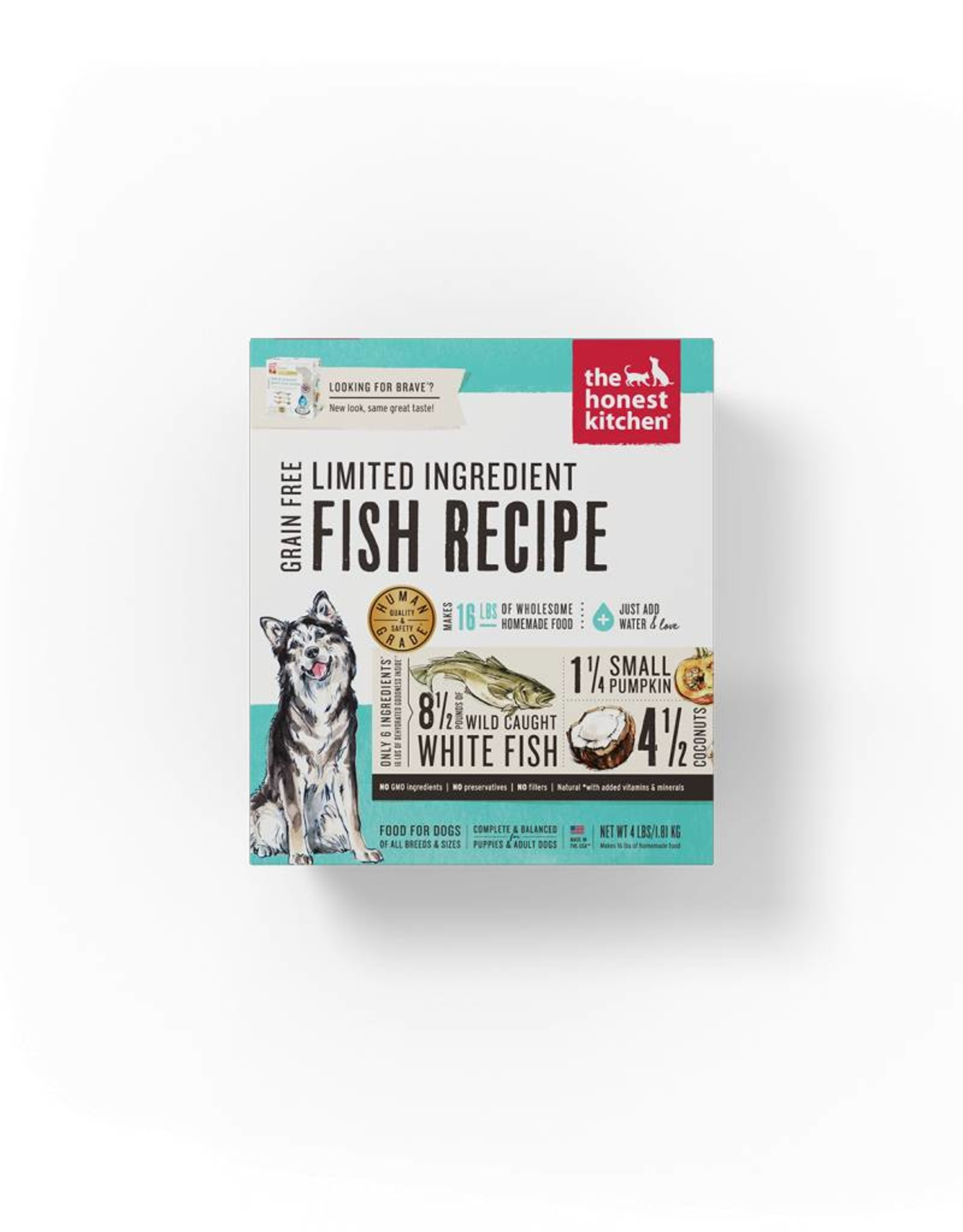 THE HONEST KITCHEN The Honest Kitchen | Dehydrated Limited Ingredient Fish Recipe (Brave)