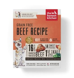THE HONEST KITCHEN The Honest Kitchen | Dehydrated Grain-Free Beef Recipe (Love)