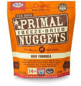 PRIMAL PET FOODS Primal | Freeze Dried Nuggets Canine Beef Formula