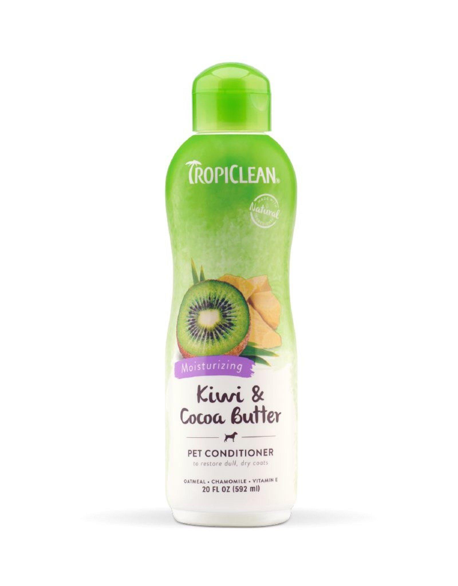 TROPICLEAN TropiClean | Kiwi & Cocoa Butter Pet Conditioner