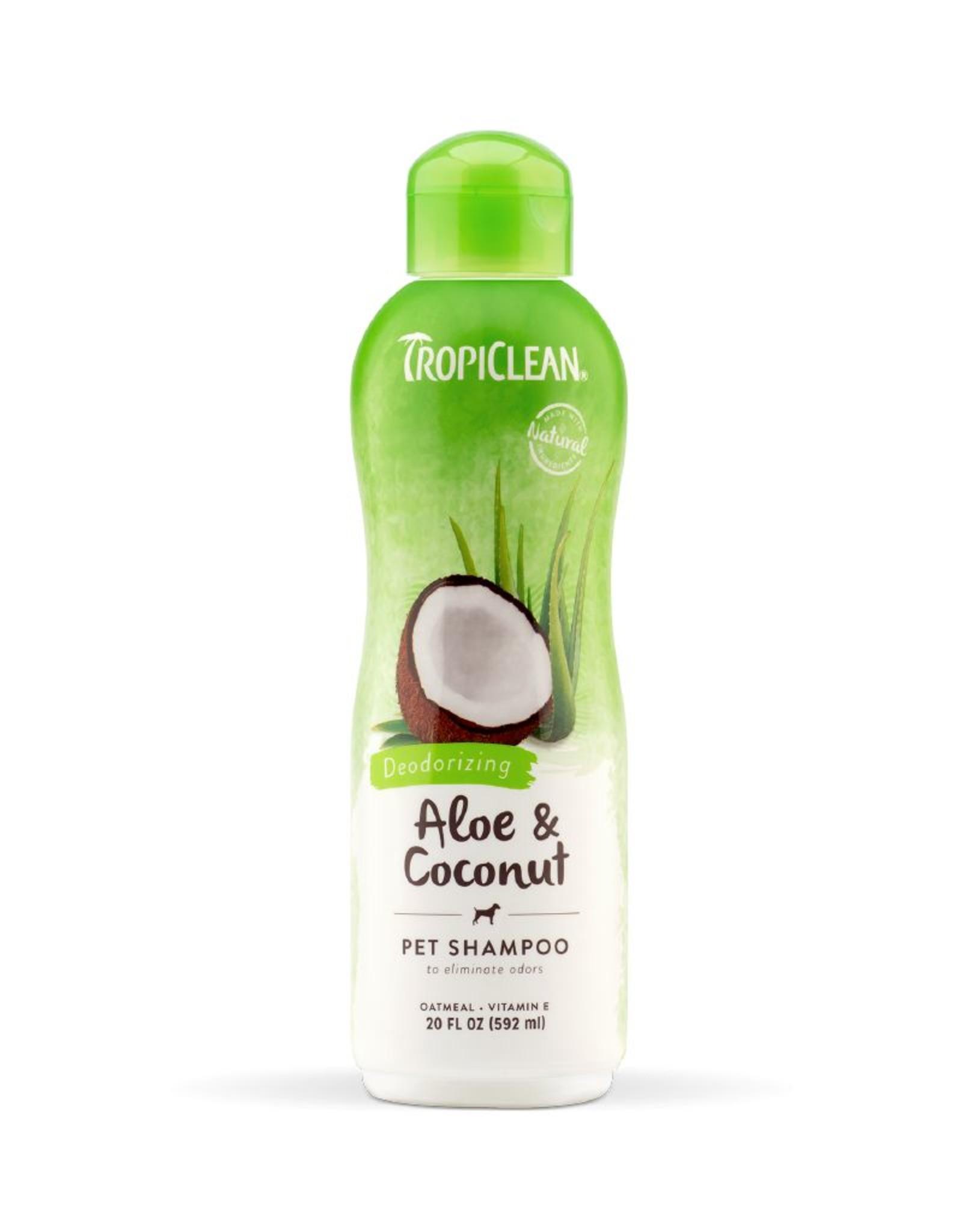 TROPICLEAN TropiClean | Aloe & Coconut Pet Shampoo