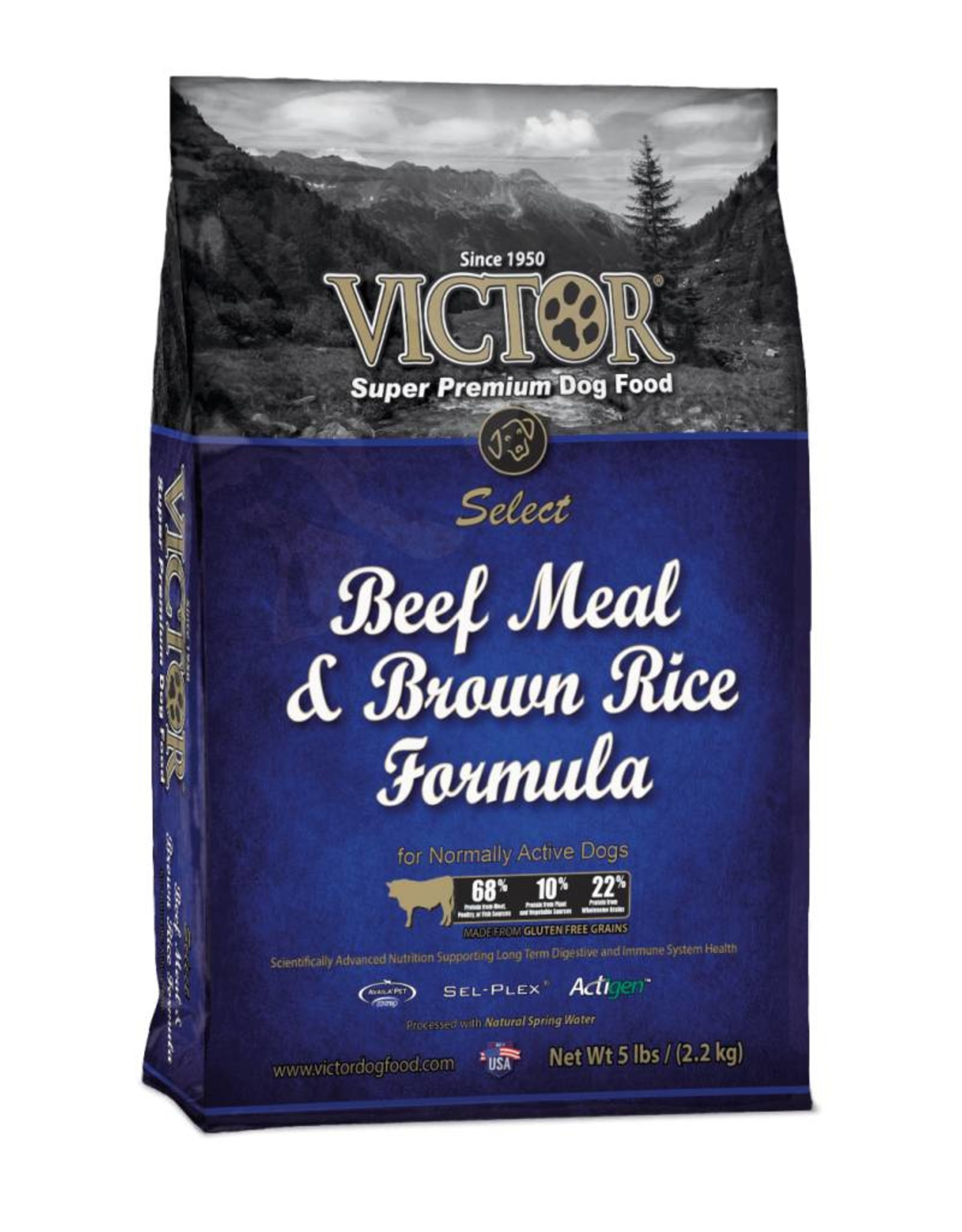 Victor Super Premium Pet Foods Victor | Select Beef Meal & Brown Rice Formula