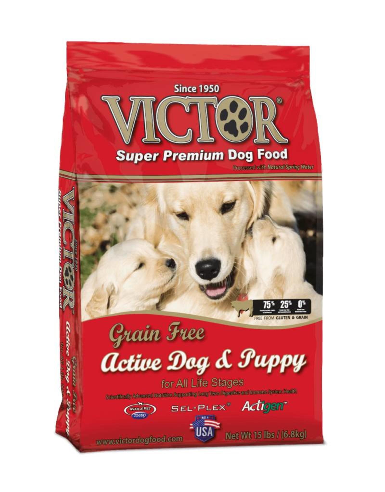 Victor Super Premium Pet Foods Victor | Grain Free Active Dog & Puppy Formula