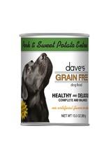 DAVE'S PET FOOD Dave's   Grain Free Pork & Sweet Potato Entrée Canned Dog Food