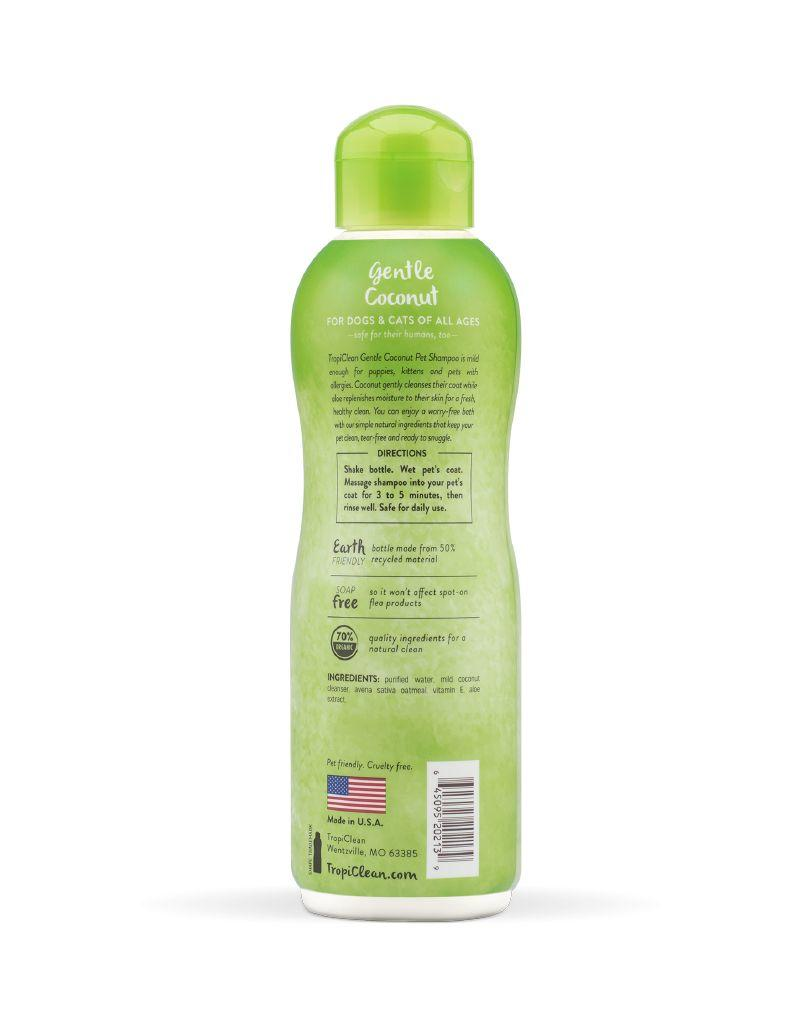 TROPICLEAN TropiClean | Gentle Coconut Pet Shampoo 20 oz