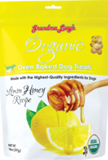 Grandma Lucy's Grandma Lucy's | Organic Oven Baked Dog Treats Lemon Honey Recipe 14OZ
