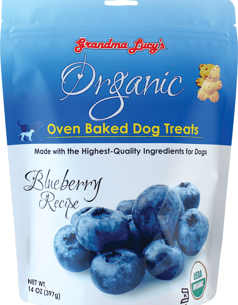 Grandma Lucy's Grandma Lucy's | Organic Oven Baked Dog Treats Blueberry 14 oz