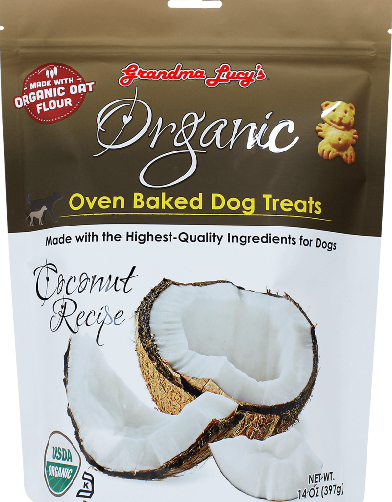 Grandma Lucy's Grandma Lucy's | Organic Oven Baked Dog Treats Coconut Recipe 14OZ