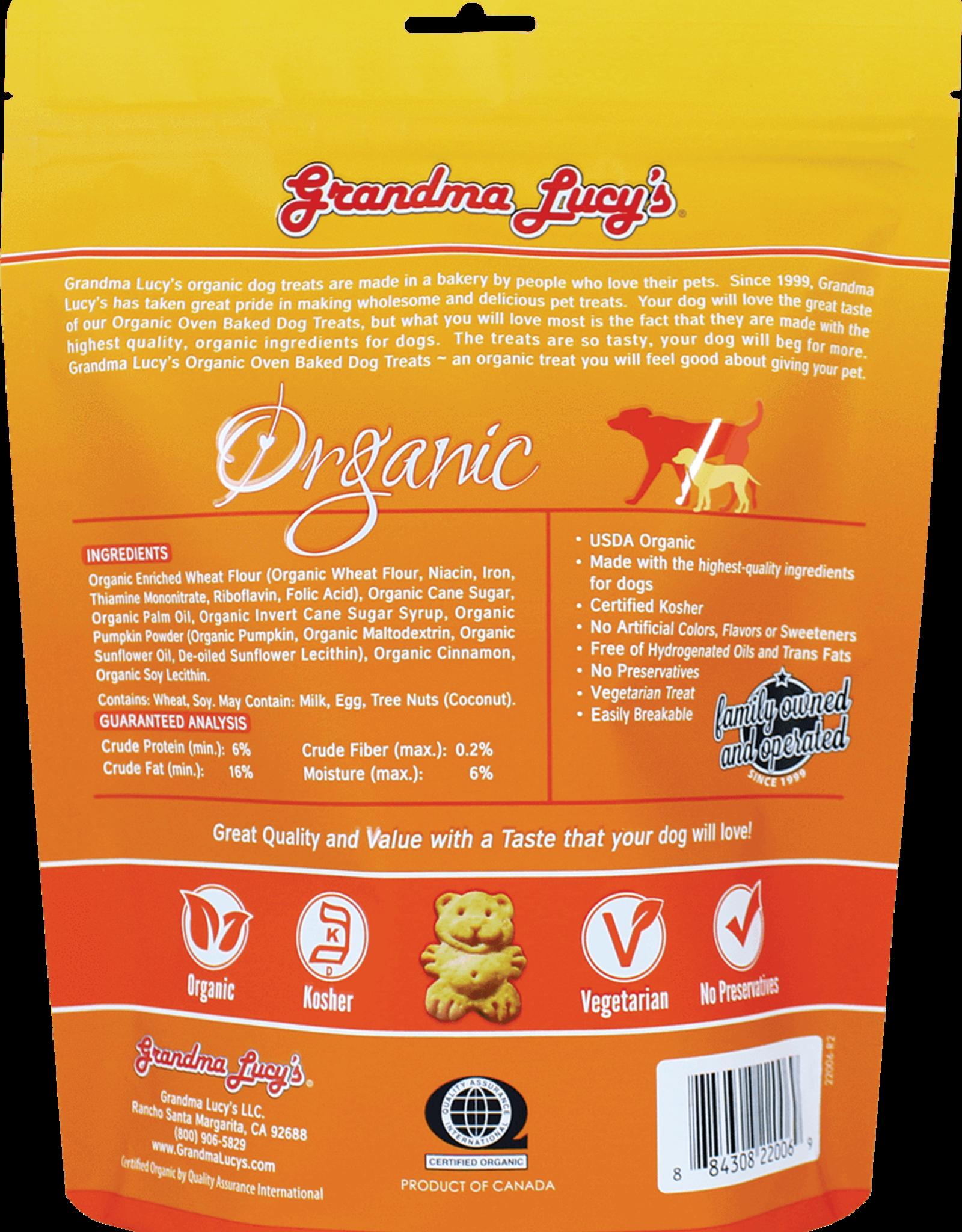 Grandma Lucy's Grandma Lucy's | Organic Oven Baked Dog Treats Pumpkin 14 oz