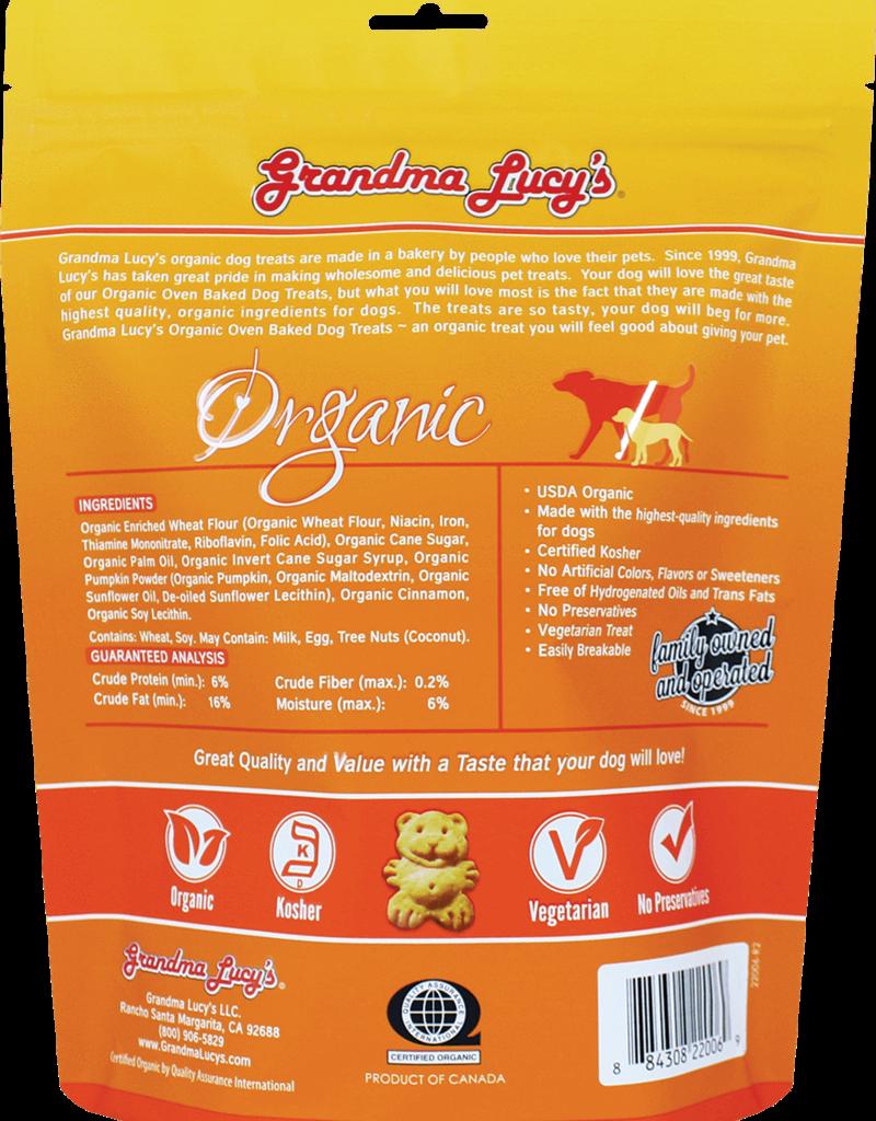 Grandma Lucy's Grandma Lucy's   Organic Oven Baked Dog Treats Pumpkin 14 oz