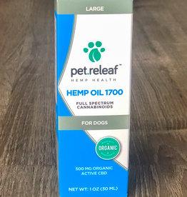 Pet Releaf Pet Releaf | CBD Hemp Oil 1700 mg for Dogs