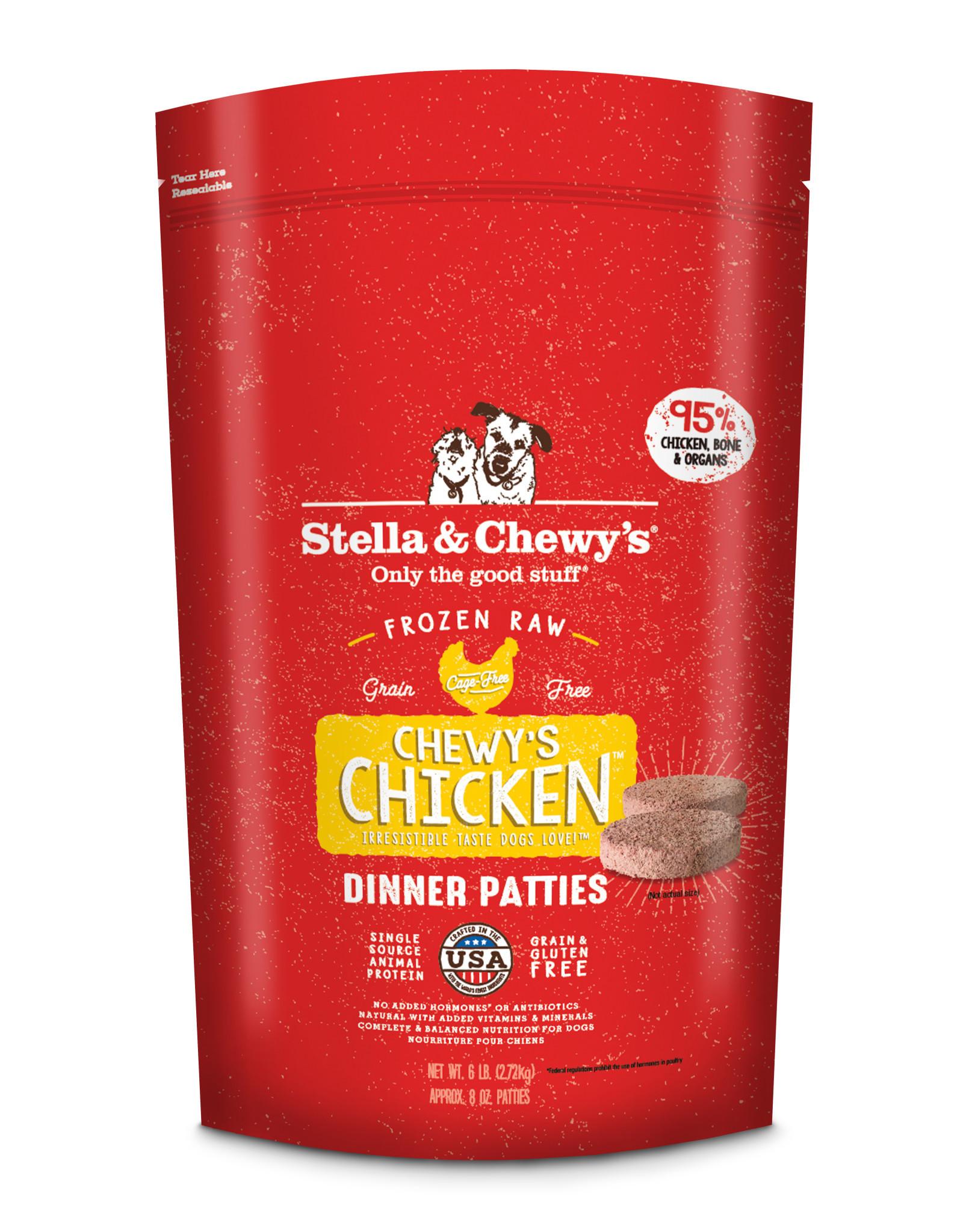 STELLA & CHEWY'S Stella & Chewy's | Chicken Frozen 8 oz Dinner Patties