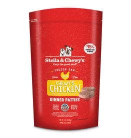 STELLA & CHEWY'S Stella & Chewy's   Chicken Frozen 8 oz Dinner Patties