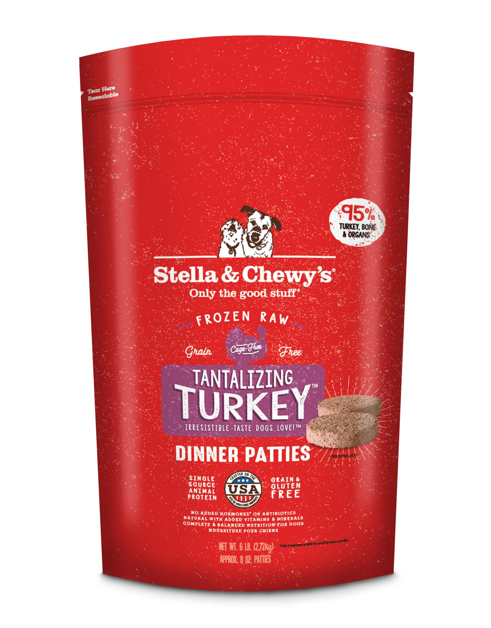 STELLA & CHEWY'S Stella & Chewy's   Frozen Canine Dinner Tantalizing Turkey Formula