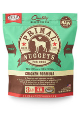 PRIMAL PET FOODS Primal | Raw Frozen Canine Chicken Formula