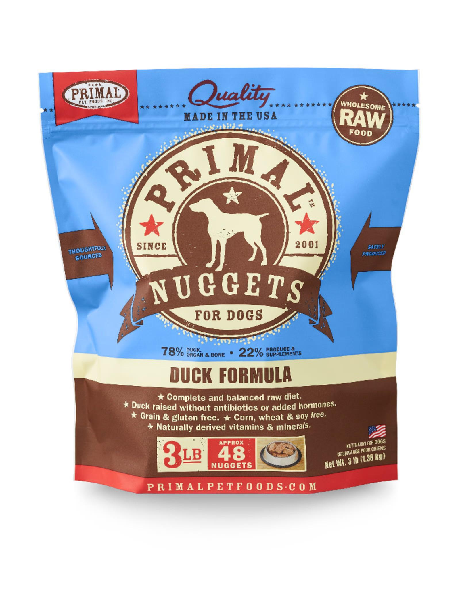 PRIMAL PET FOODS Primal | Raw Frozen Canine Duck Formula