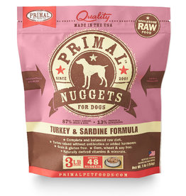 PRIMAL PET FOODS Primal | Raw Frozen Canine Turkey & Sardine Formula