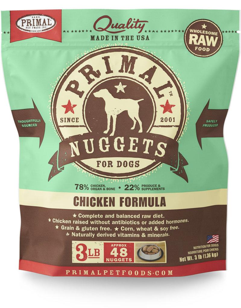 PRIMAL PET FOODS Primal | Raw Frozen Canine Chicken Formula