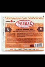 PRIMAL PET FOODS Primal | Dog Frozen Bone Beef Marrow Medium Single Pack