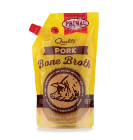 PRIMAL PET FOODS Primal | Frozen Bone Broth Pork 20 oz