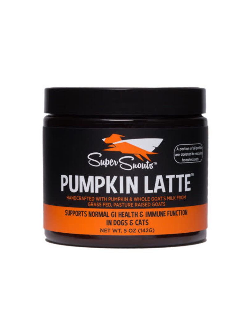 Diggin' Your Dog Super Snouts Pumpkin Latte 5 oz