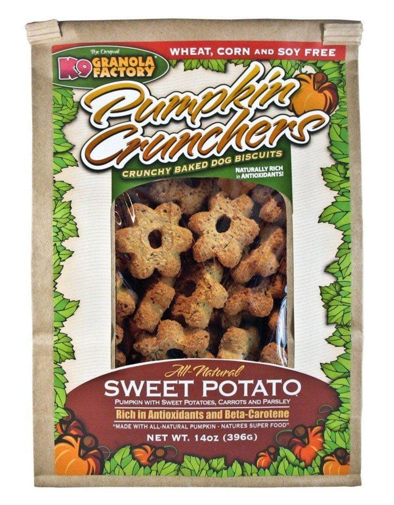 K9 Granola Factory K9 Granola | Treats Crunchers Pumpkin, Sweet Potato, Carrot & Parsley