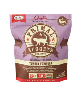 PRIMAL PET FOODS Primal Cat | Raw Frozen Feline Turkey Formula