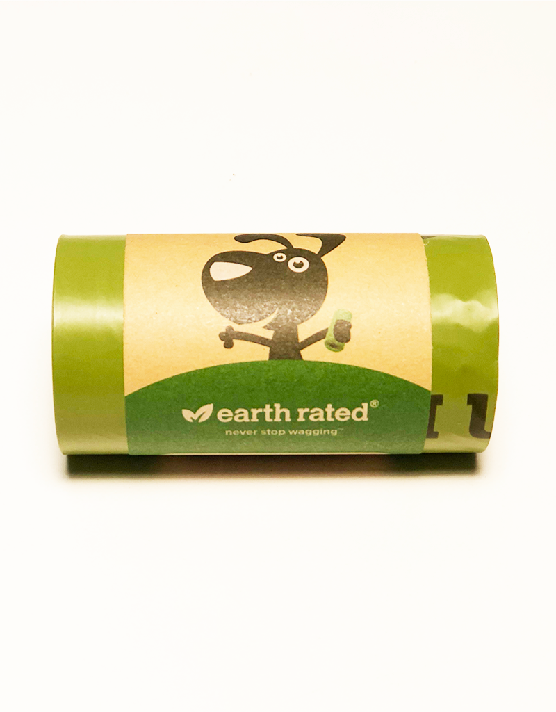 EARTH RATED Earth Rated | Dispenser Refill, 15 standard bags, Unscented