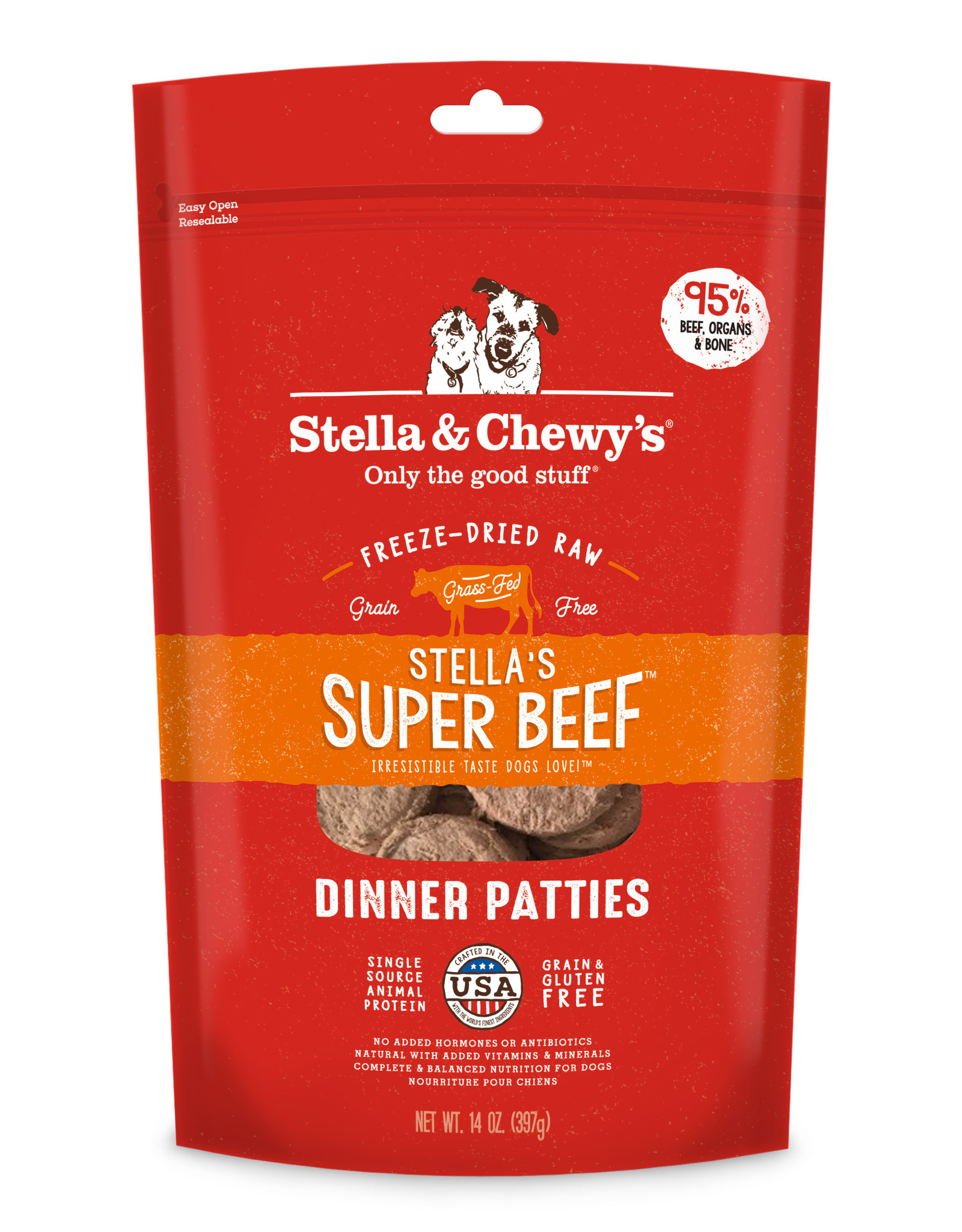 STELLA & CHEWY'S Stella & Chewy's | Freeze Dried Patties Super Beef